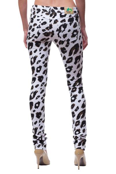 print skinny Beyon Craze jeans