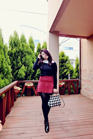 EMODA sweater - Stylenanda skirt