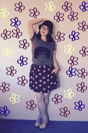 Cozy Reverie shirt - Forever 21 skirt