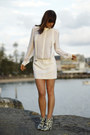Blue-ankle-boots-thakoon-boots-white-silk-dion-lee-dress