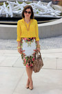 Balenciaga-bag-jcrew-blouse-topshop-skirt-nine-west-pumps