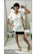 Beauty Couture top - Mango skirt - Puma shoes