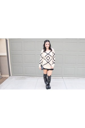 eggshell sweater