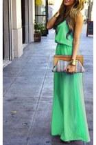 aquamarine comfortable next dress