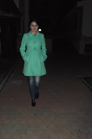 woolen Oasis coat