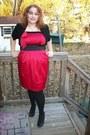 4bfcffffa7df5 ... Red-torrid-dress-black-lace-back-shrug-torrid-