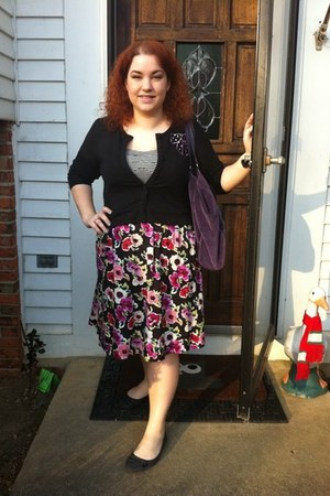torrid dress - unsure shoes - Juicy Couture purse - torrid cardigan