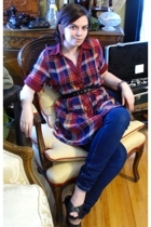 forever 21 shirt -  belt - Target jeans - Target shoes -  hat - SkwrrL Collectiv