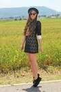 Black-creepers-plndr-shoes-black-lace-asianicandy-dress-black-bowler-h-m-hat