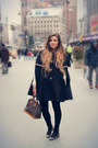 Black-lazzari-coat-brown-alma-louis-vuitton-bag-black-velvet-zara-pants