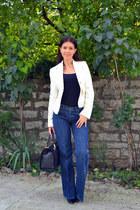 Mavi Jeans jeans - Mango blazer - Zara top - La Strada pumps