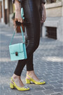 Heather-gray-zara-blazer-light-blue-h-m-bag-green-zara-top