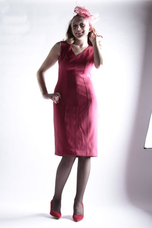 VienneMilano stockings - pink pumps Aldo pumps