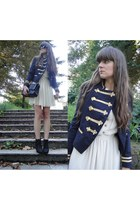 Ralph Lauren jacket - Queens Wardrobe dress - Chanel bag