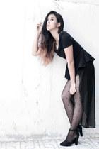 Zipper&Lace shorts - Zara shoes - Zipper&Lace top