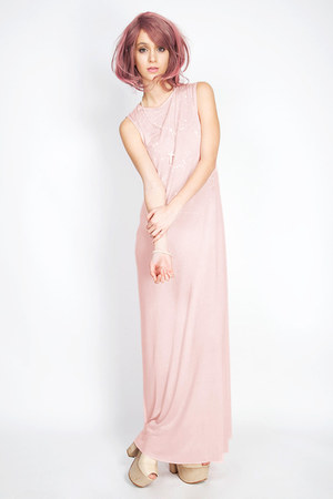 light pink DEAR LOLA dress