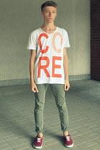 H&M shoes - Jack&Jones t-shirt - H&M pants