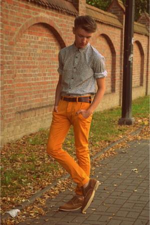 CCC shoes - H&M shirt - Zara pants - Bershka belt
