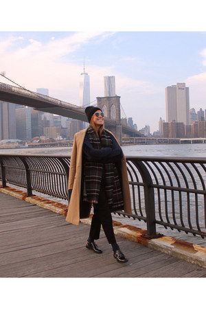 Zara sweater - carlo pazolini shoes - River Island coat - Zara scarf
