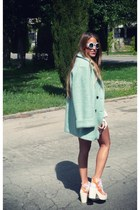 anna xi coat - shellys london heels