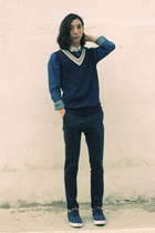 Tokio pants - beyond closet shirt - Tokio vest - Pointer sneakers