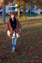 tba blazer - mary jane Topshop shoes - Vanilia coat - Diesel jeans