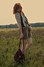 White-mango-shirt-brown-antik-batik-vest-green-zara-shorts-brown-marc-by-m