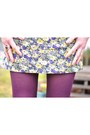 Light-purple-floral-forever21-dress-tawny-platforms-kimchi-blue-shoes
