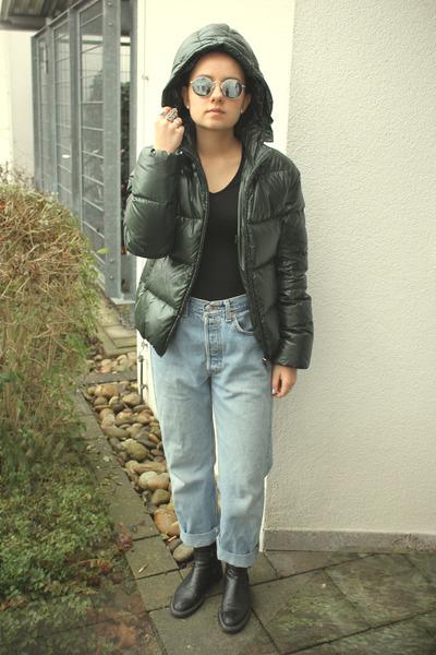 Duvetica coat - Levis jeans