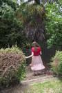 Off-white-tempt-skirt-red-gleek-jay-jays-t-shirt