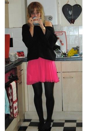 Oasis skirt - Topshop jumper