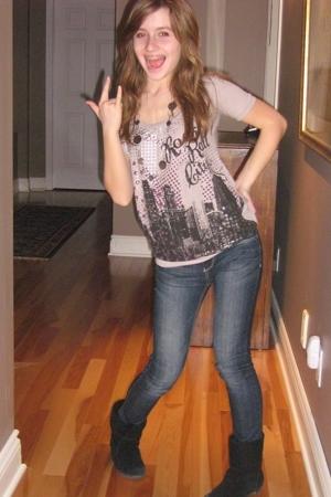 Urban Planet shirt - Bongo jeans - Aldo boots