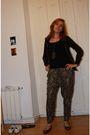 Black-h-m-jacket-brown-zara-pants-gray-zara-shoes