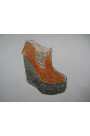 brown Jeffrey Campbell shoes