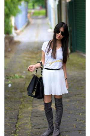 Kenneth Cole boots - Alexander Wang bag - monroe stylestalker shorts