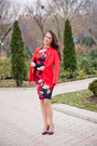 Ruby-red-zara-shoes-red-asos-dress-red-h-m-jacket