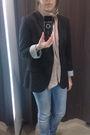 Miss-selfridge-scarf-zara-blazer-zara-jeans