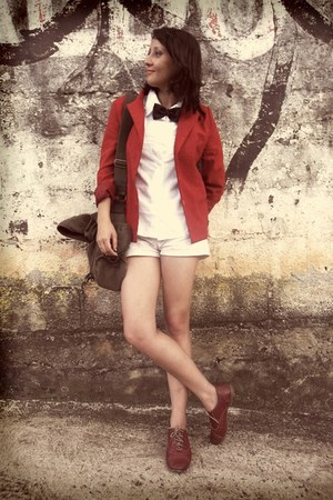 Zara blazer - Karita shoes - Tyffer shirt - Claires shorts