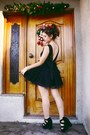 Black-dress4less-dress-black-lovelyshoes-heels