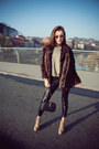 Black-tights-beige-boots-brown-coat-river-island-scarf-black-purse