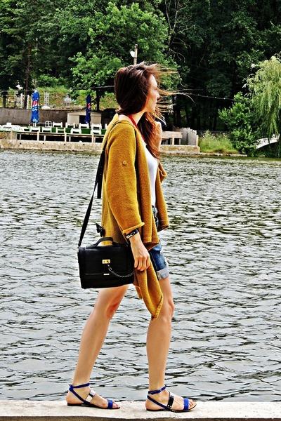 DIY sweater - Zara sandals