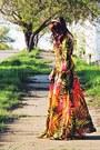 Green-rosewe-dress