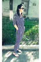 Zara bodysuit - Zara flats