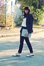 Silver-metallic-pull-bear-shoes-off-white-rosewe-shirt