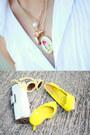 Blue-floral-nava-skirt-yellow-neon-nava-belt-ivory-plain-nava-top