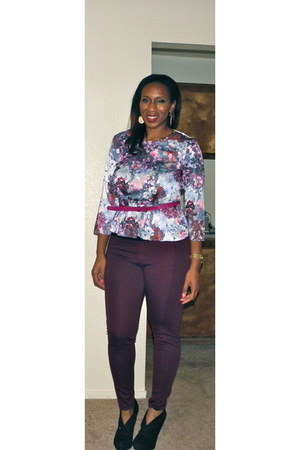 peplum H&M Trend blouse