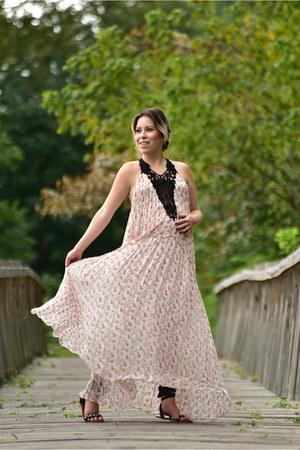 Zara dress - Zara bag - abercrombie and fitch flats