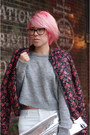 White-zara-jeans-hot-pink-mango-jacket-silver-zara-sweater