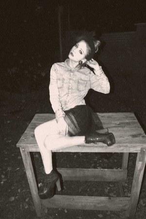 H&M jacket - Primark skirt - Jeffrey Campbell heels