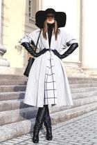 asos coat - asos hat - Topshop skirt